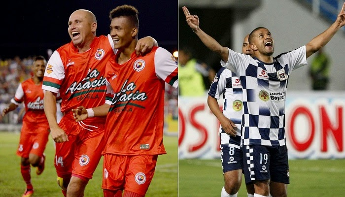 Boyaca Chico vs Cortulua en vivo