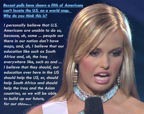 dumb miss america