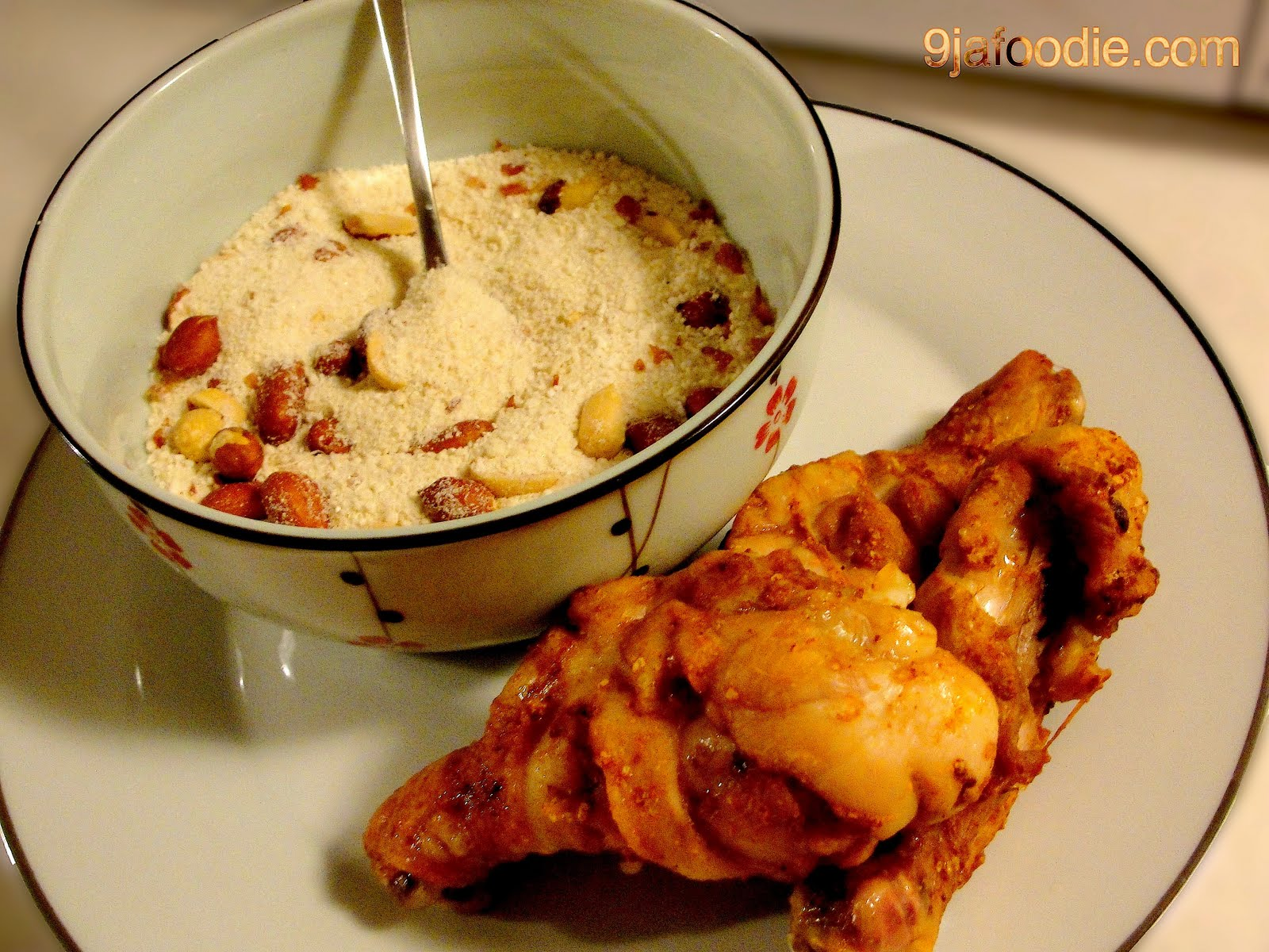 Modern african cuisine garri for African cuisine dishes