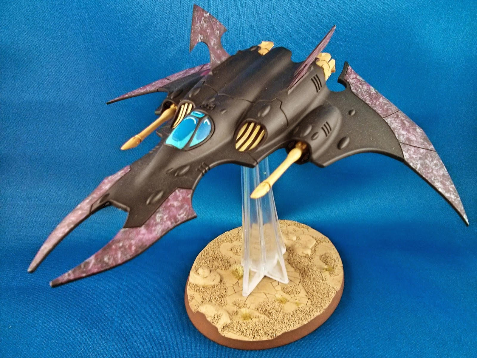 Crimson Hunter, Eldar, Flyer, Ulthwe, Conversion, Razorwing, Dark Eldar