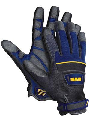 Proteja suas mãos contra picadas de lacraias venenosas com essa luva específica para construção