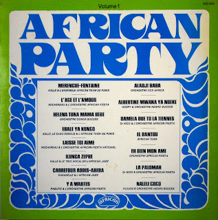 African Party, vol.1 - Various Artists,african 360.089, 1968