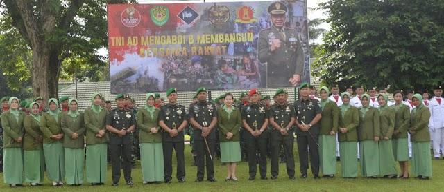 Korem 061/SK Gelar Upacara Hari Juang Kartika Tahun 2018