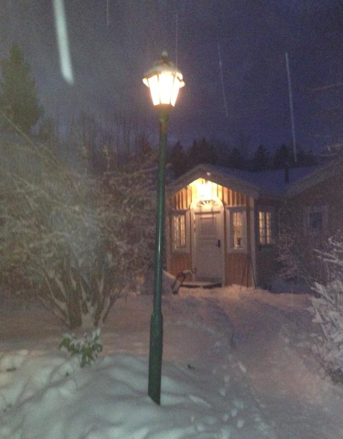 Lampan är från Narnia 3.2.2015