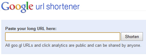 URL Toolbox, Google URL Shortener Wikipedia