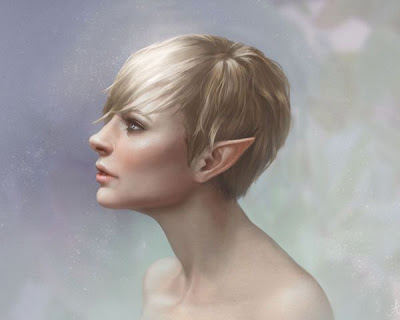 Mujer elfo