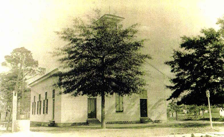 Shiloh Baptist Church in 1736 ~ Camden County, North Carolina