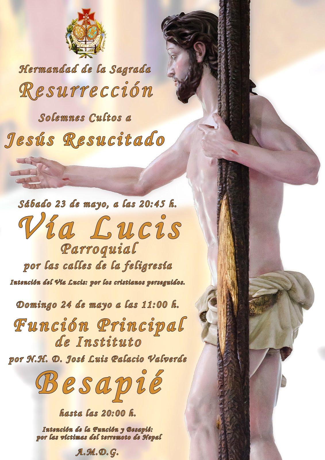 Cultos a Jesús Resucitado