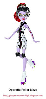 Poupée Monster High Operetta Roller Maze