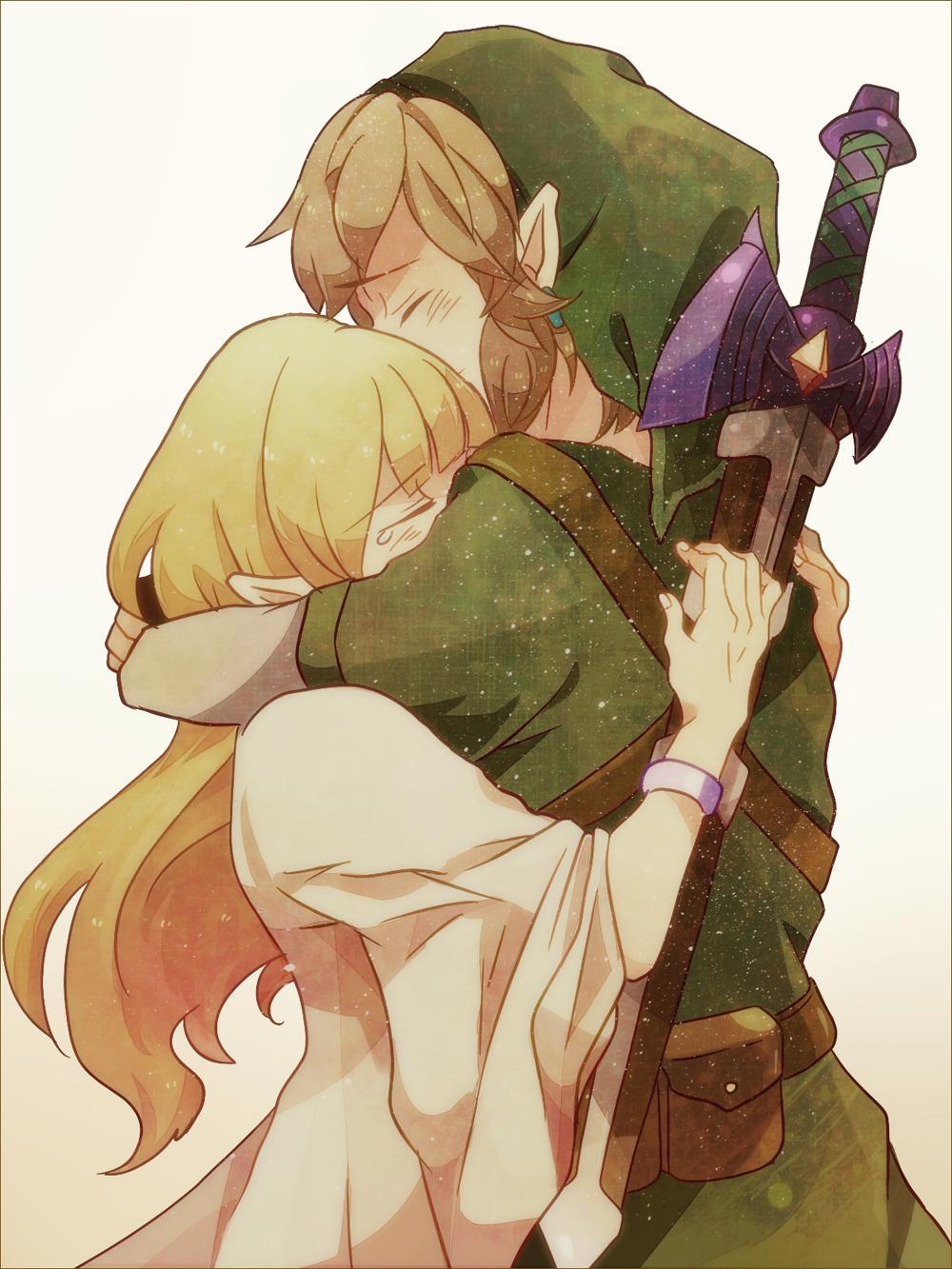Link And Zelda Relationship Princess Zelda and Lin...