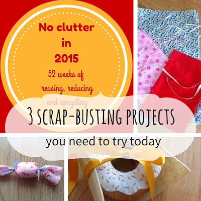 decluttering: 3 scrap busting projects you need to try today