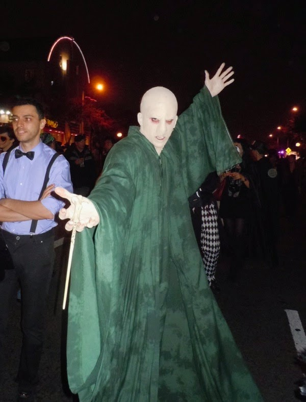 Voldemort Halloween costume West Hollywood 2011