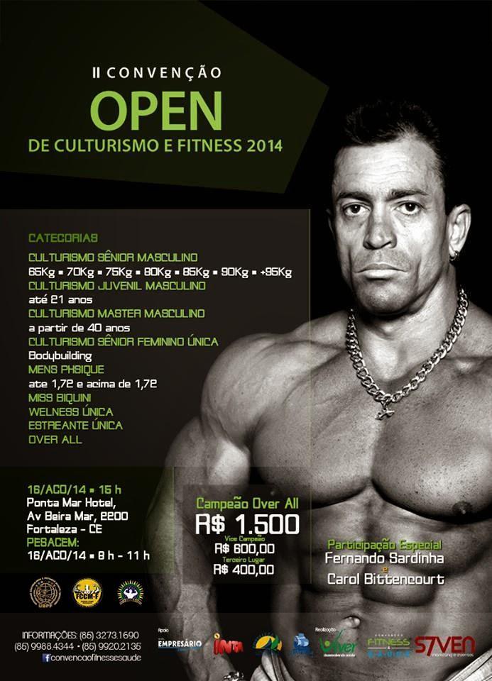 II Convenção Opeon de Culturismo e Fitness 2014