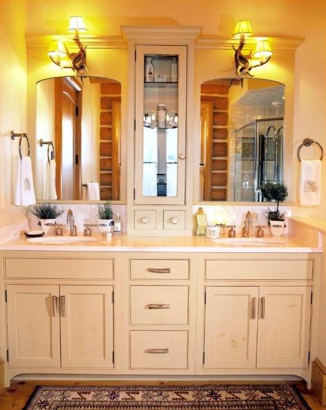 The ba os y muebles gabinetes de ba o de madera for Gabinetes de bano df