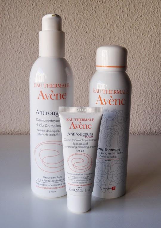 Línea antirojeces Avène