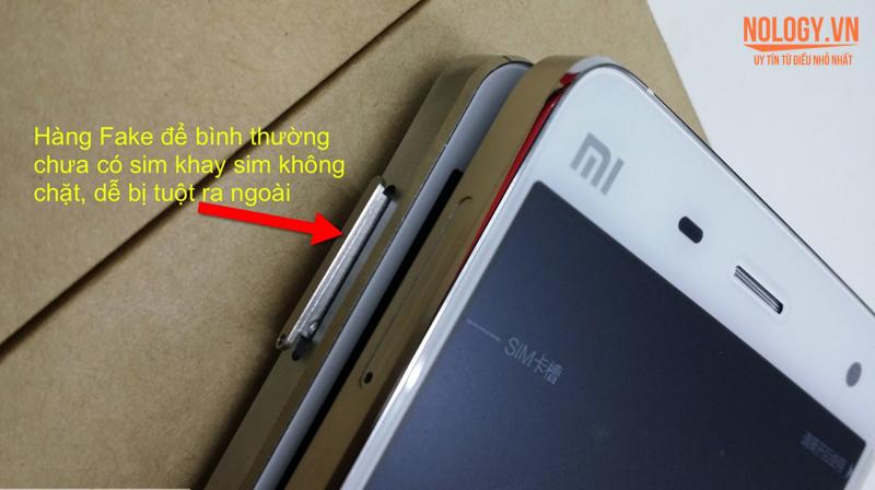 Cảnh báo Xiaomi Mi4 xịn và nhái