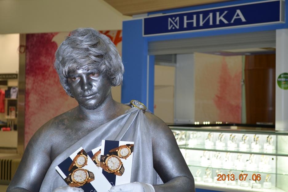 Праздничное агентство «FIESTA» в Волгограде и Волжском: Живые статуи на праздник в Волгограде и Волжском