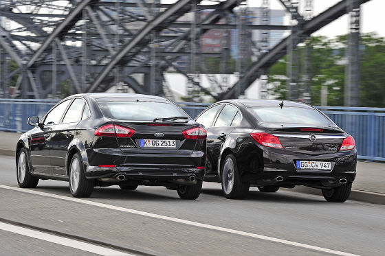 Opel insignia turbo vs ford mondeo ecoboost