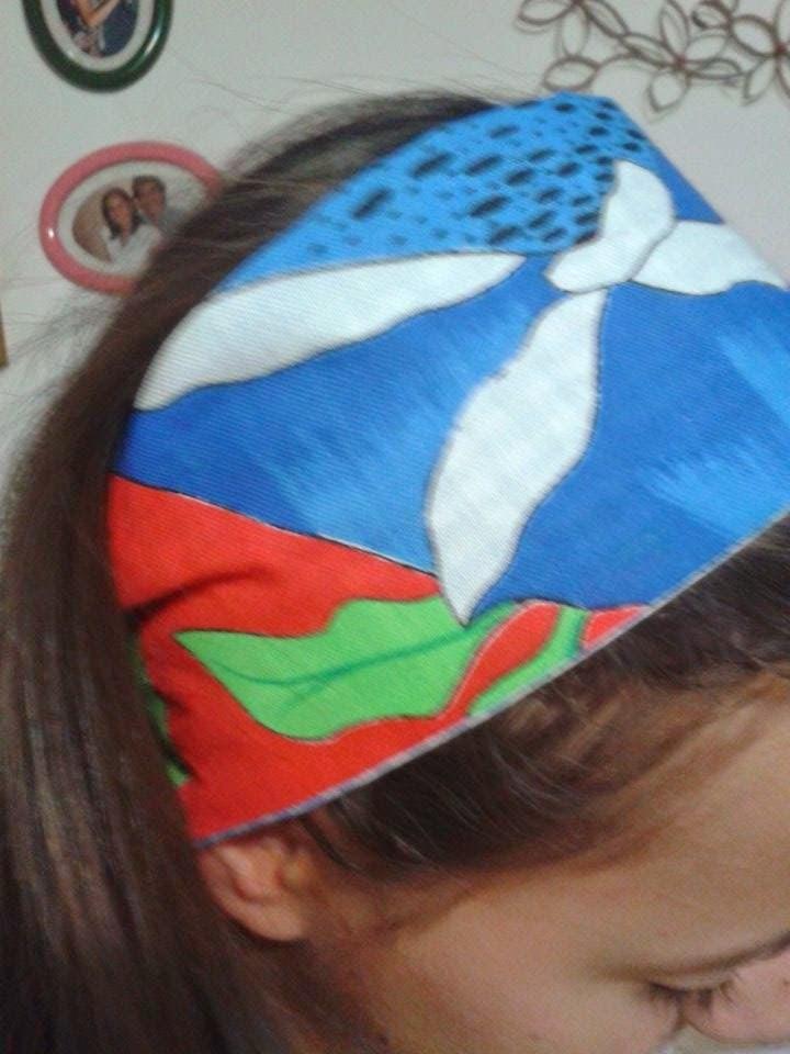 como fazer faixa de cabelo