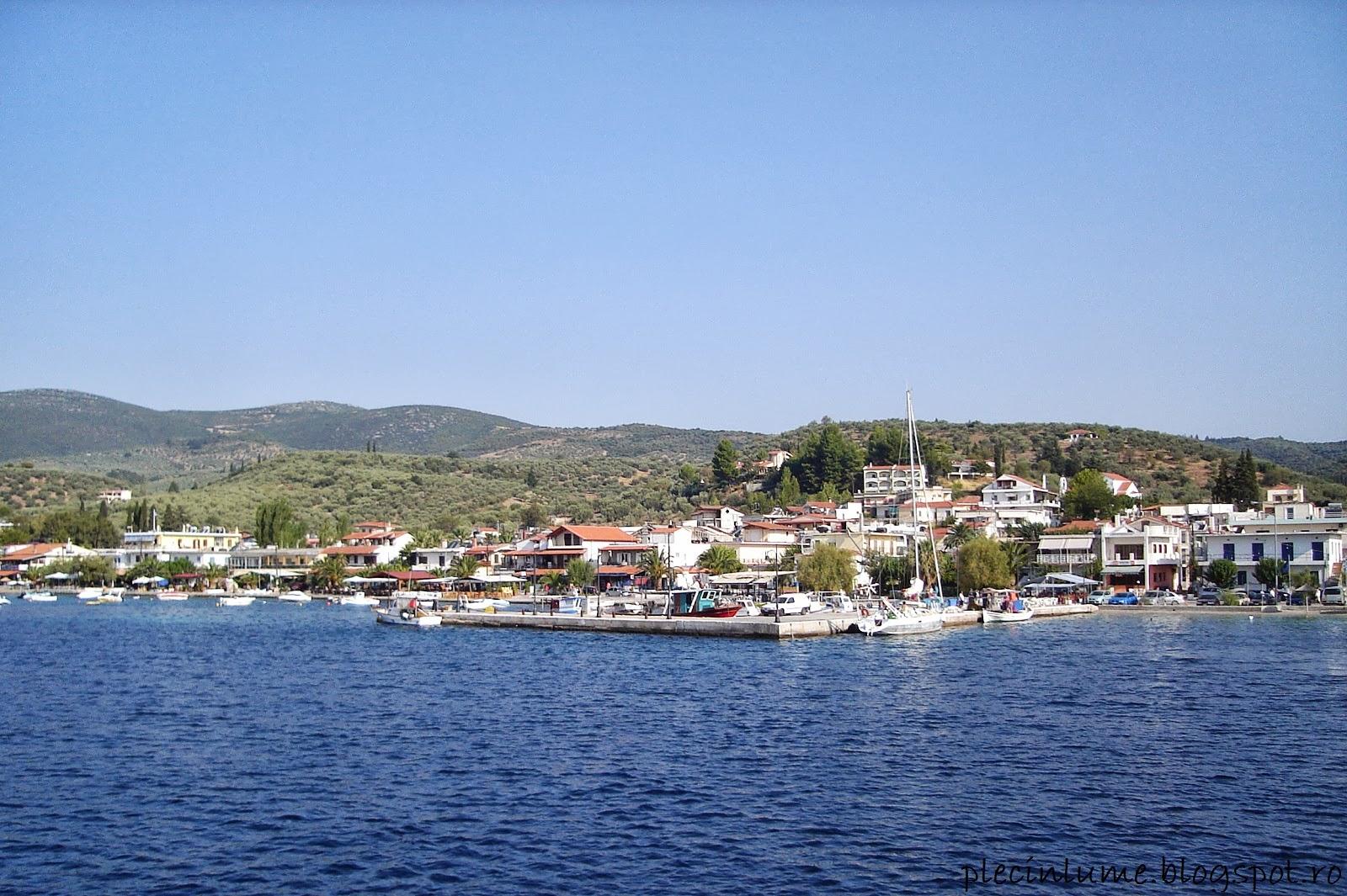 Plecare din port spre Skiathos
