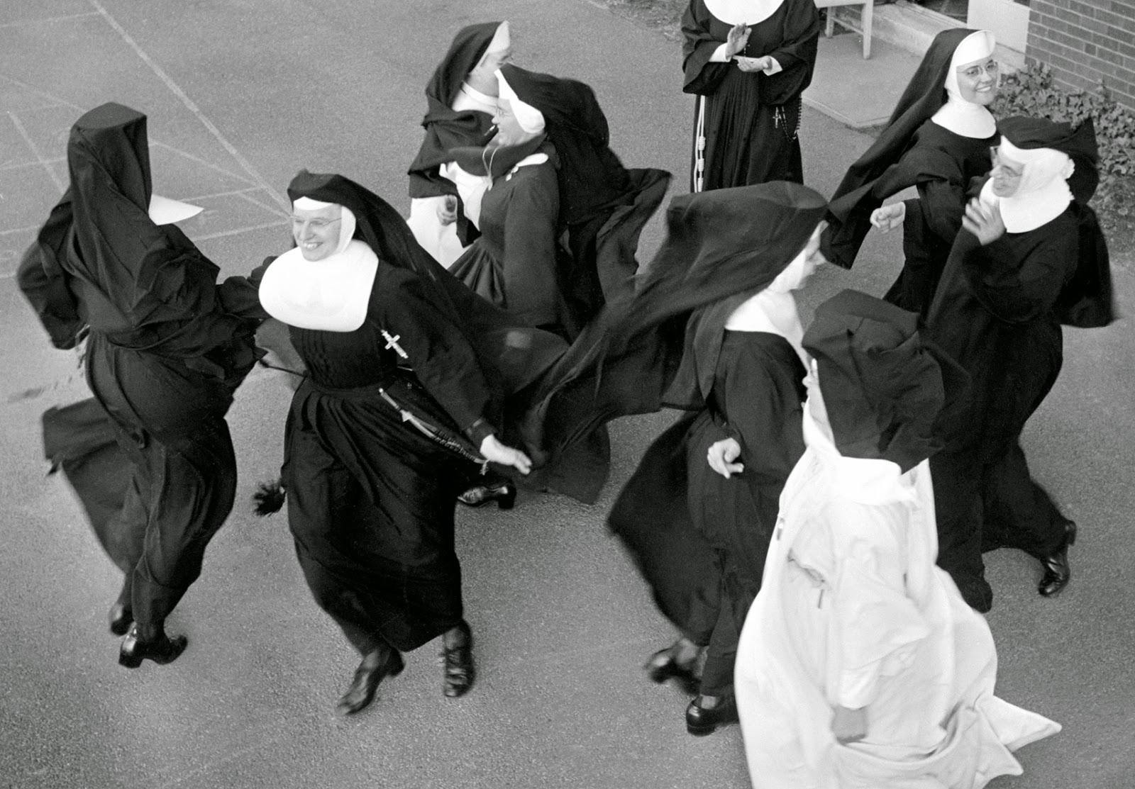 Good looking nuns
