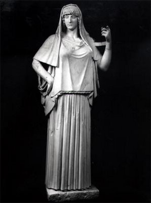 Hestia diosa del hogar
