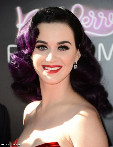 beauty-katy-perry-colorful-hairstyle