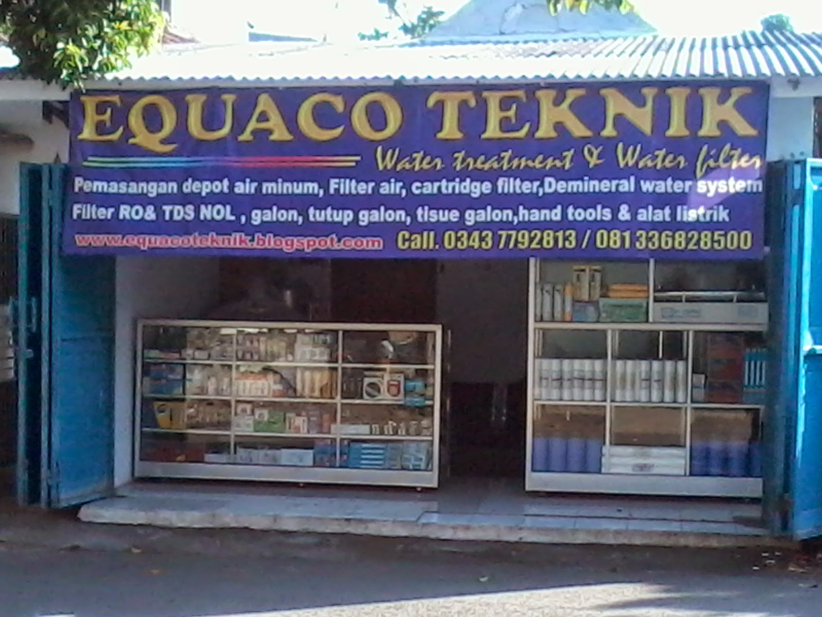 EQUACO TEKNIK WATER FILTER