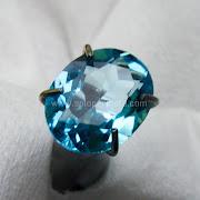 Batu Permata Blue Topaz - SP981