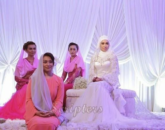 Lagi Gambar-Gambar Cantik Dihari Pernikahan Misha Omar