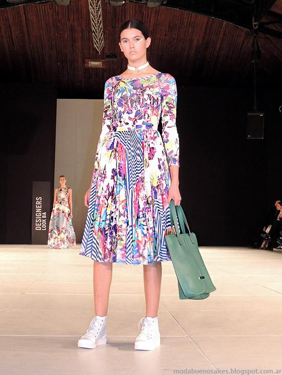 Dot by Laurencio Adot primavera verano 2015 vestidos.