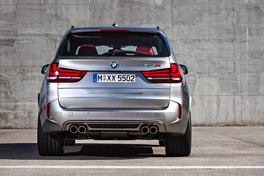 BMW X5 M (2015) Rear