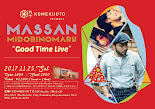 "11/25 sat MASSAN & MIDORINOMARU ""Good Time Live"""