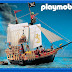 ... do Barco Pirata da Playmobil