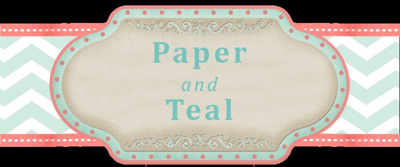 Paper & Teal