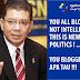 YOU ALL BLOGGERS NOT INTELLIGENT .. THIS IS NEW POLITICS ! ... JADI ... TUN DR MAHATHIR PUN TAK INTELLIGENT KE ?
