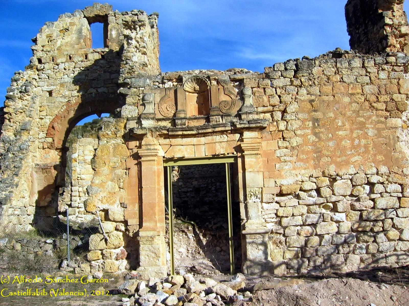 castielfabib-ruinas-convento-fachada