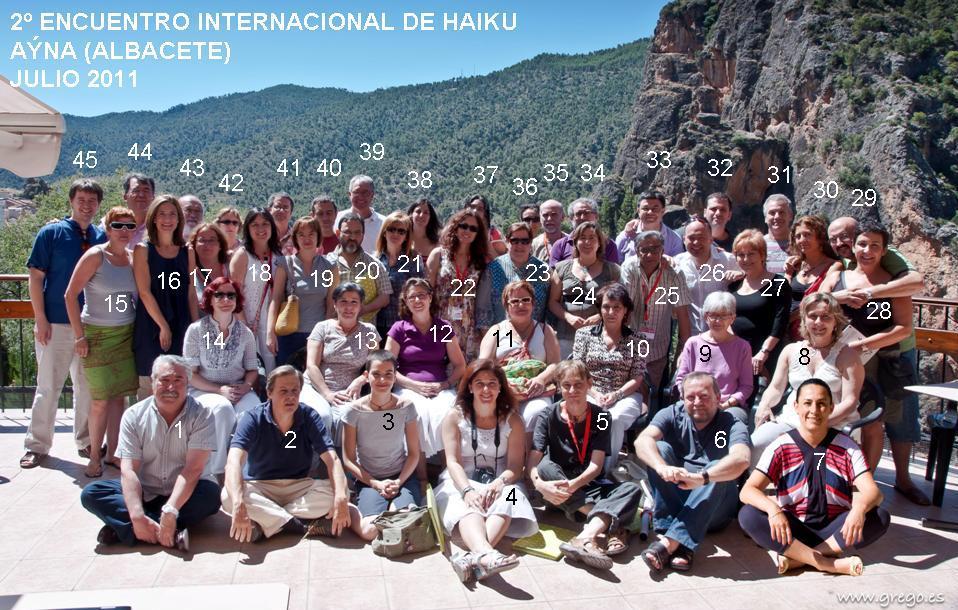 Segundo Encuentro de Haiku (Aýna, Albacete)