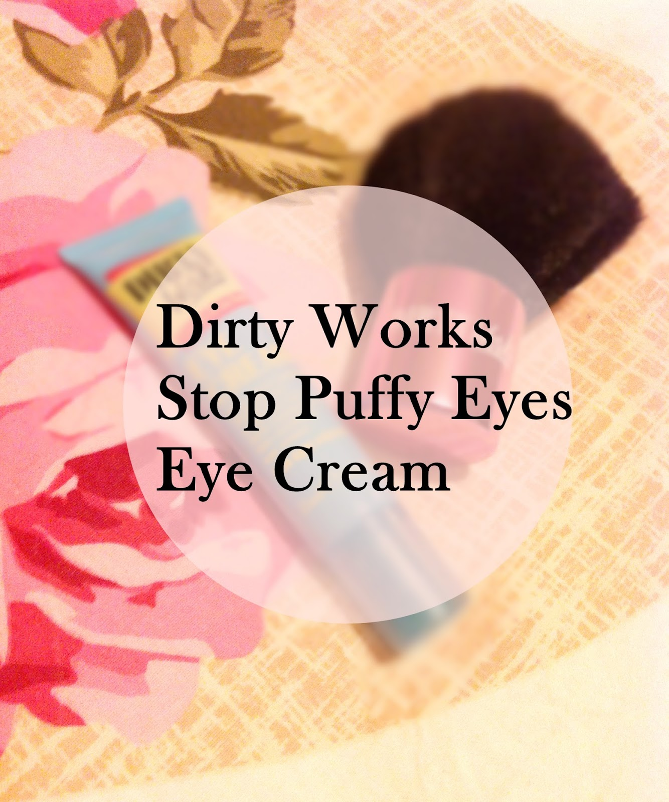 stop puffy eyes