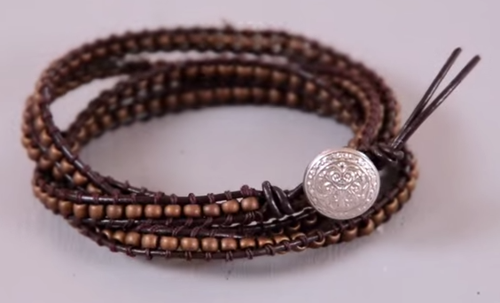 10 DIY jewellery making videos. Make a jewellery gift for men with you own hands!