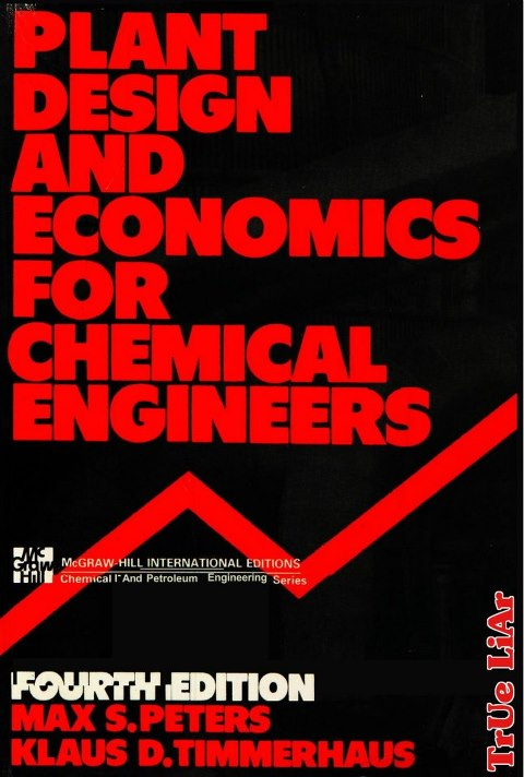 chemical engineering design solution manual