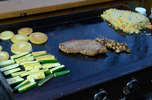 hibachi steak, teppanyaki steak