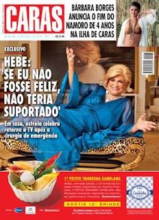 Brinde Gratis 6 edições da Revista Caras