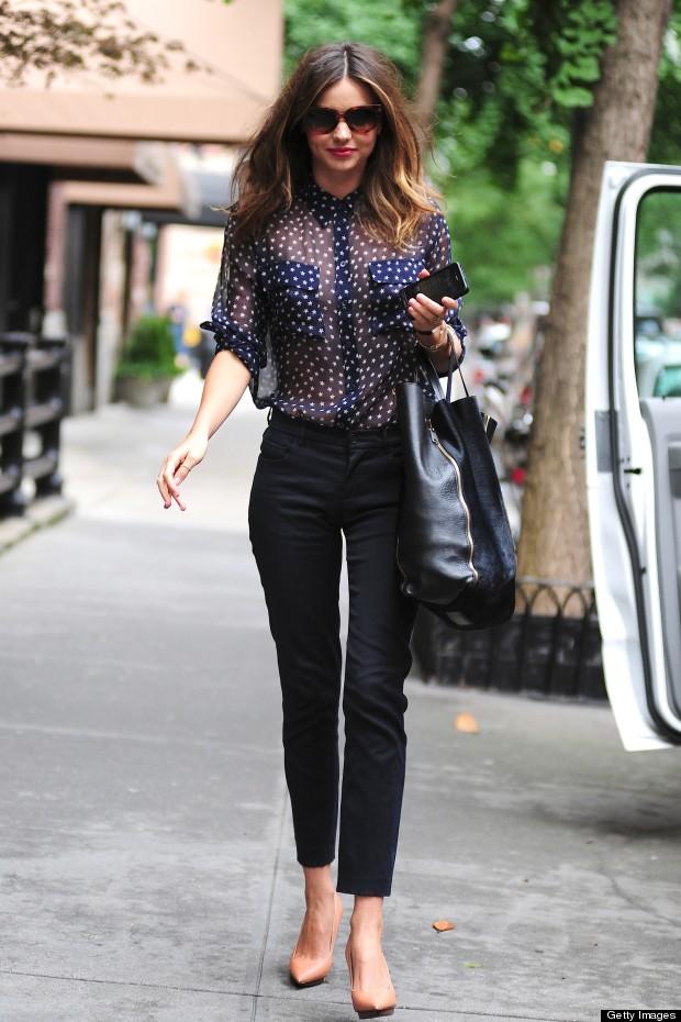 The Muse Chic Street Style Miranda Kerr