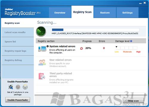 Uniblue RegistryBooster 2011 + Serial 3