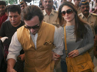 Saif, Kareena & others snapped while leaving for Pataudi