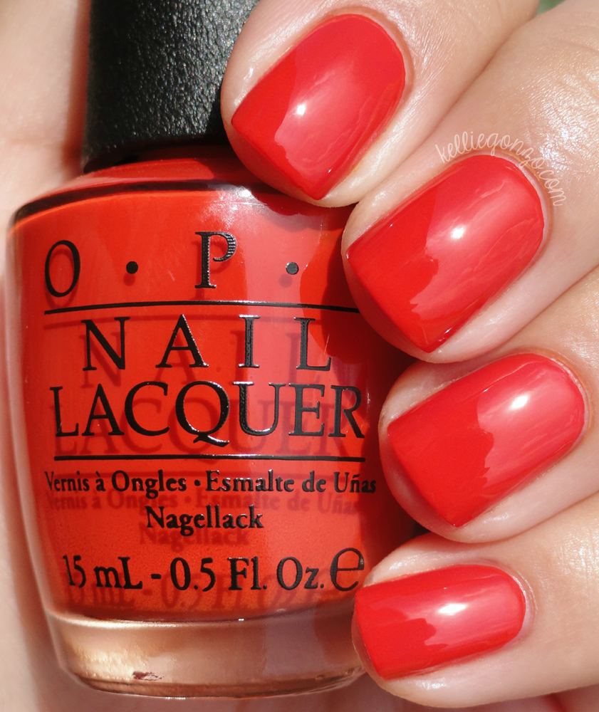 OPI Race Red | kelliegonzo