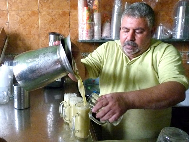Ägyptischer Zuckerrohrsaft Zuckerrohr Ägypten Assab