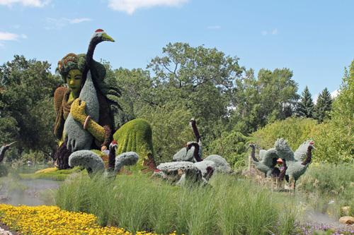 International Mosaiculture at Montréal Botanical Garden