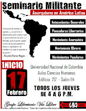 Seminario militante: Anarquismo en América Latina